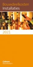 , Bouwdeelkosten Installaties 2021