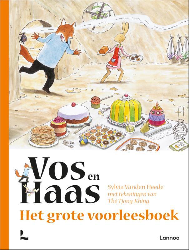 Sylvia Vanden Heede,Het grote voorleesboek van Vos en Haas