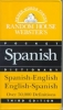 Random House,Random House Webster`s Pocket Spanish Dictionary