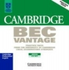 Cambridge BEC. Vantage. 2 CDs,Practice Tests from the University of Cambridge Local Examinations Syndicate
