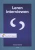 Marian  Hulshof,Leren interviewen