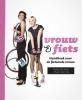 <b>N. de Jong, Marina de Vries</b>,Vrouw en fiets