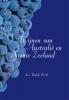 Rudolf  Pierik,Wijnen van Australie en Nieuw Zeeland