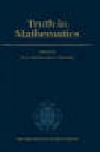H. G. Dales,   Gianluigi Oliveri Truth in Mathematics