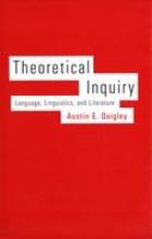 Austin E. Quigley Theoretical Inquiry