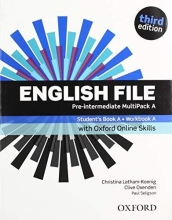 Oxenden, Clive,   Latham-Koenig, Christina,   Seligson, Paul English File third edition: Pre-intermediate. MultiPACK A with iTutor and Online Skills