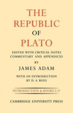Adam, James The Republic of Plato