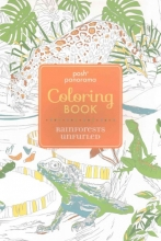 Andrews McMeel Publishing Posh Panorama Adult Coloring Book