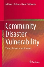 David F. Gillespie Michael J. Zakour, Community Disaster Vulnerability