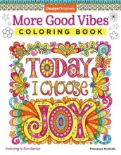 Thaneeya McArdle More Good Vibes Coloring Book