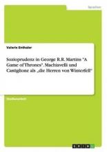 Enthaler, Valerie Sozioprudenz in George R.R. Martins