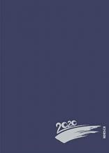 Foto-Malen-Basteln A4 dunkelblau mit Folienprägung 2020