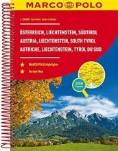 , MARCO POLO Reiseatlas Österreich, Liechtenstein, Südtirol 1:200 000