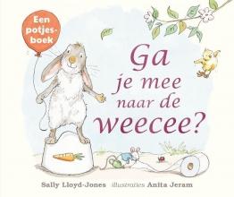 Sally Lloyd-Jones , Ga je mee naar de weecee? karton