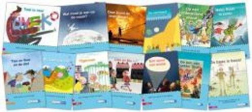 , Pakket leesboeken kim-versie kern afsluiting (13 titels)