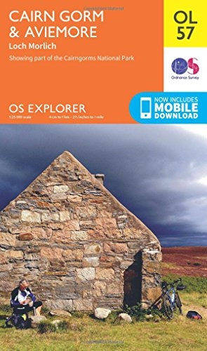 Ordnance Survey,Cairn Gorm & Aviemore, Loch Morlich