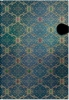 Pb2976 , Paperblanks notitieboek french ornate blue grande blanco