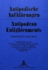 , Antipodische Aufkl?rungen - Antipodean Enlightenments