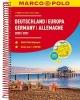, MARCO POLO Reiseatlas Deutschland 2020/2021 1:300 000, Europa 1:4 500 000