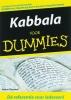 <b>Arthur Kurzweil</b>,Kabbala voor Dummies