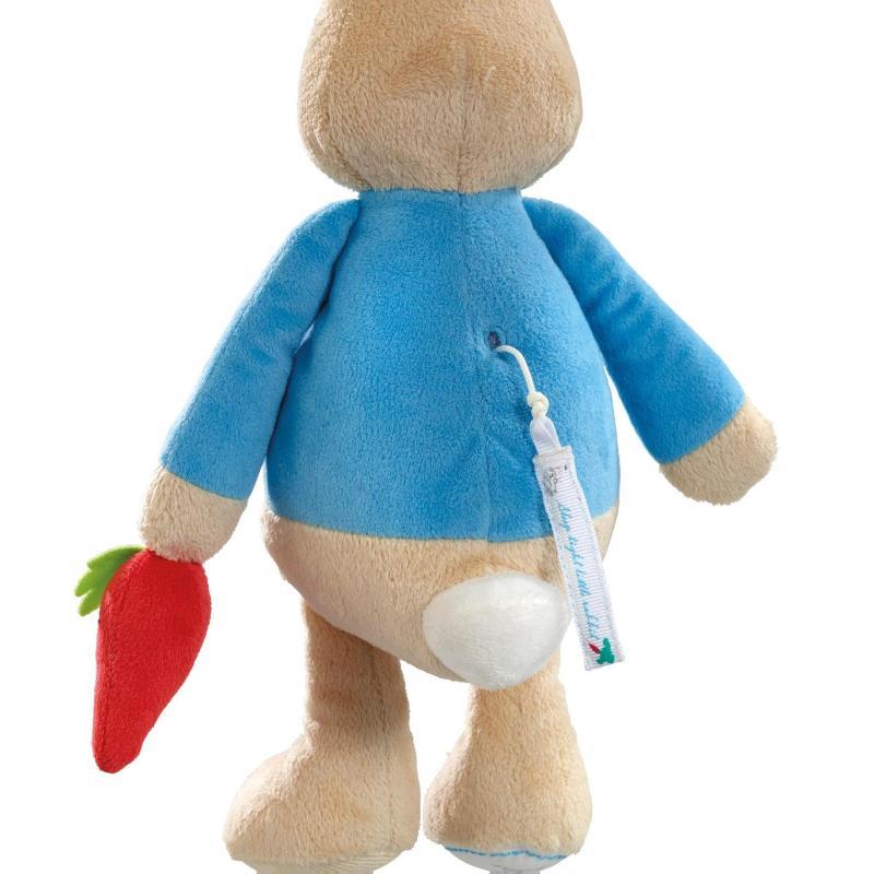 ,Peter Rabbit muziekdoos knuffel 28cm (4x in verpakking)