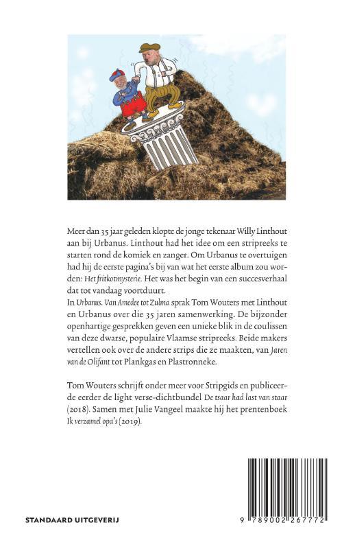 Tom Wouters,,Urbanus Van Amedee tot Zulma