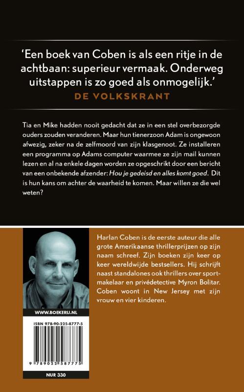 Harlan Coben,Houvast