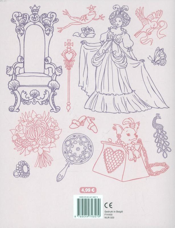 ,Het mooie prinsessen kleurboek