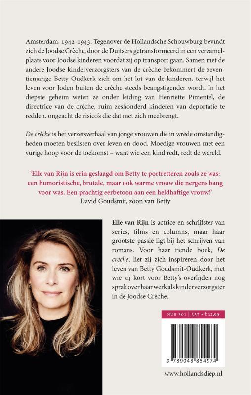 Elle van Rijn,De crèche
