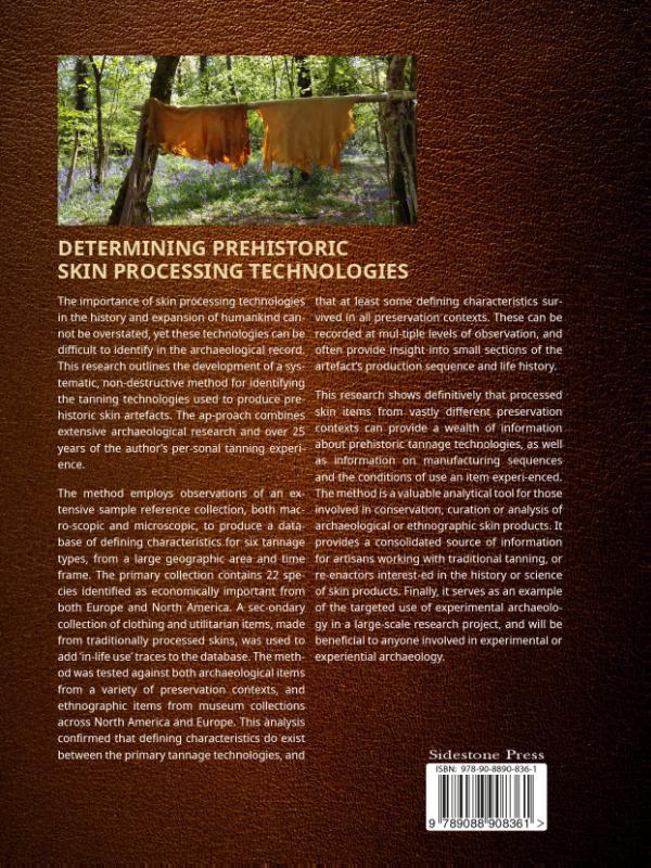 Theresa Emmerich Kamper,Determining Prehistoric Skin Processing Technologies