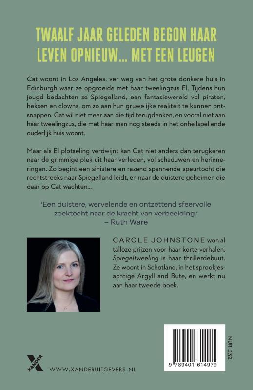 Carole Johnstone,Spiegeltweeling