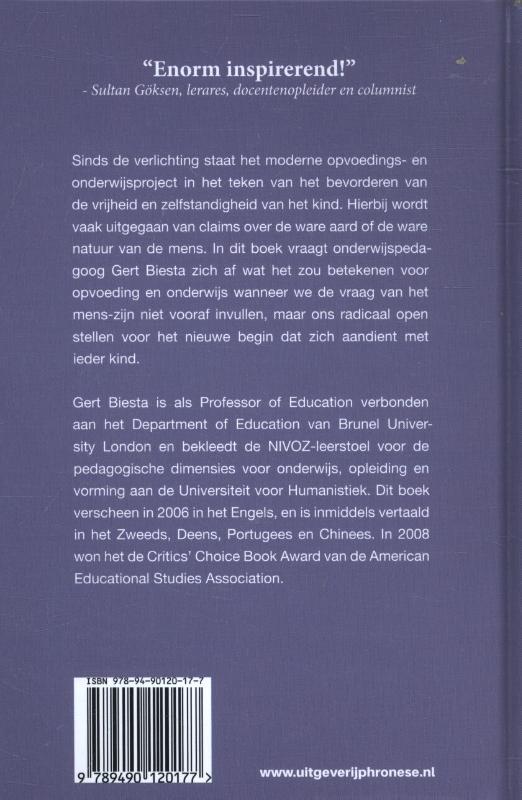 Gert J.J. Biesta,Het leren voorbij