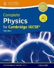 Pople, Stephen Complete Physics for Cambridge IGCSE ® Student book