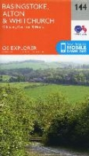 Ordnance Survey,Basingstoke, Alton and Whitchurch