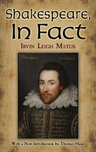 Matus, Irvin Leigh Shakespeare, in Fact