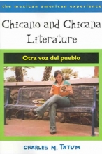 Tatum, Charles M. Chicano and Chicana Literature