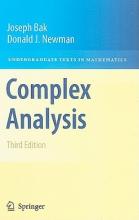 Joseph Bak,   Donald J. Newman Complex Analysis