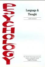 Judith Hartland Language and Thought