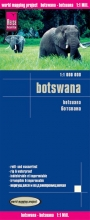 , Reise Know-How Landkarte Botswana 1 : 1.000.000