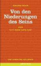 Braun, Adrienne Von den Niederungen des Seins oder Tutti bikini capta sunt.