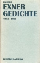 Exner, Richard Gedichte 1953 - 1991