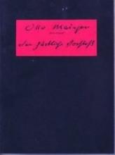 Mainzer, Otto Der zärtliche Vorstoss