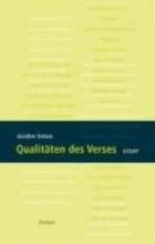 Debon, Günther Qualitäten des Verses