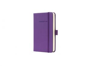 notitieboek Sigel Conceptum Pure hardcover A6 paars         gelinieerd