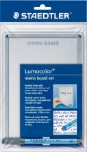 , Whiteboard Staedtler Lumocolor memo A5 met pen 305