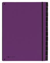 , Sorteermap Pagna Trend 12 tabs A4 lila