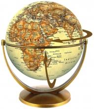 , Globe 15 cm antiek draai & kantel