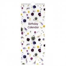 , Verjaardagskalender flowers
