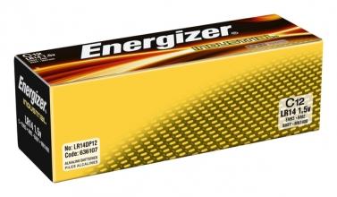 , Batterij Industrial C alkaline doos à 12 stuks