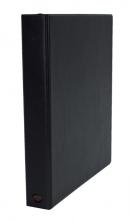 , Ringband Multo Hannibal A4 23-rings D-mech 25mm lederlook zwart